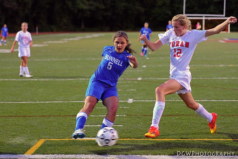 Bunnell vs. Foran - High School Girls Soccer