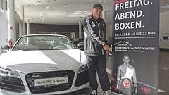 Berliner Boxurgestein Norbert Geppert