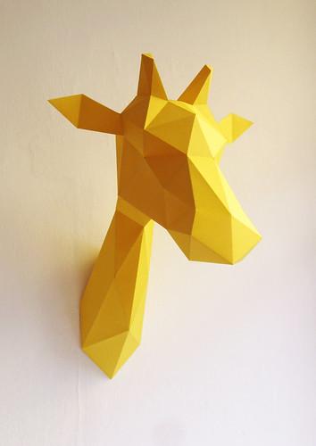 Folded-Paper-Giraffe