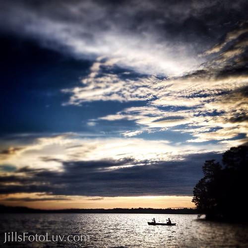 sunset sky water beautiful clouds relax virginia escape scenic richmond canoe recreation canoeing paddling chesterfield rva swiftcreekreservoir