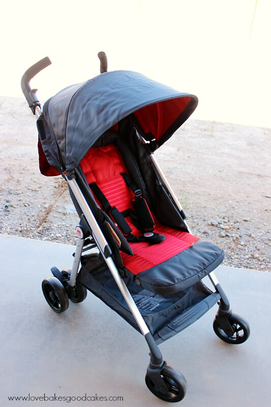 GB Zuzu Stroller review #MC #GBThatsMe #sponsored