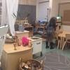 A sala de aula dela. #grade1 #reggioemilia