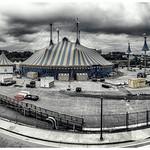 The Big Top Arrives | Cirque du Soleil | Amaluna | Atlanta | iPhoneography