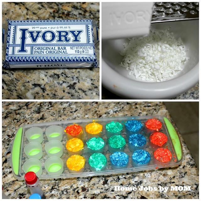 ivory bath crayons
