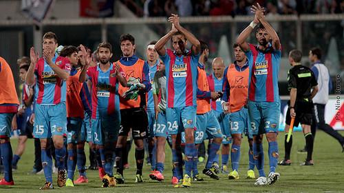 Catania, la vittoria di Sannino$