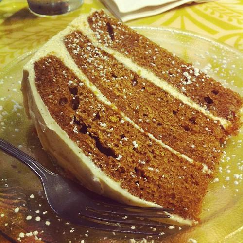 green owl chai cake