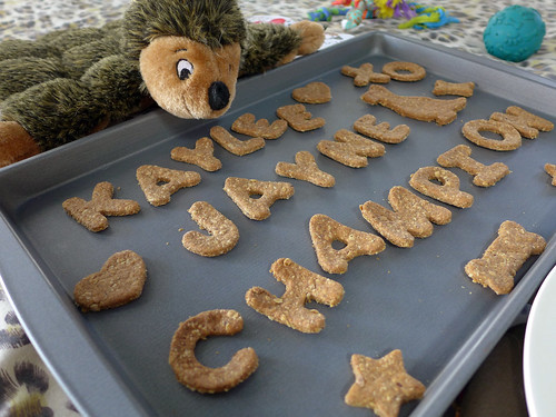 Carbs & Rec - Champion's Peanut Butter Oatmeal Birthday Biscuits (0012)