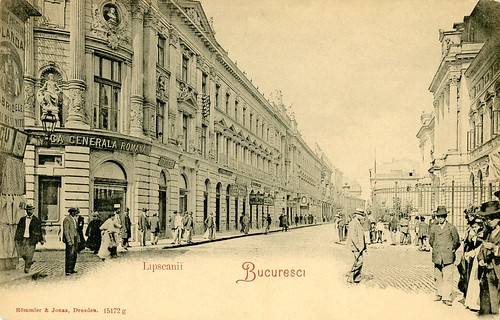 Bucharest, Old Town, ~ 1906-1910, photographer: unknown