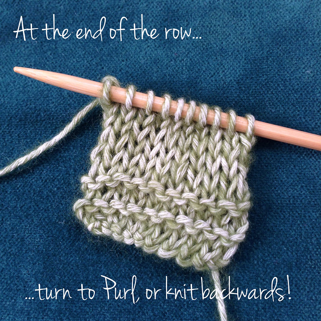 Knitting Backwards
