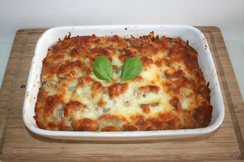 41 - Pizzatoast-Auflauf - Fertig gebacken / Pizza toast casserole - Finished baking