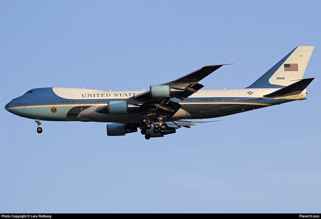 Government-United States, 92-9000, Boeing VC-25A (747-2G4B), cn 23825/685
