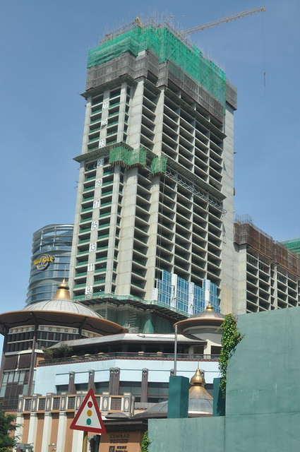Sands Cotai Central Tower 4 Construction 2014-09-14