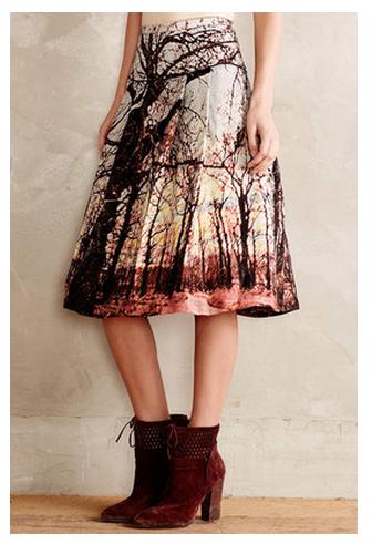 Photographic skirt