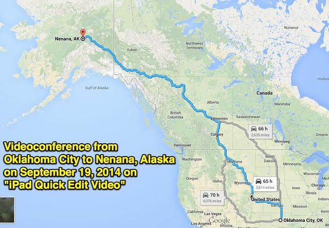 Videoconference to Alaska