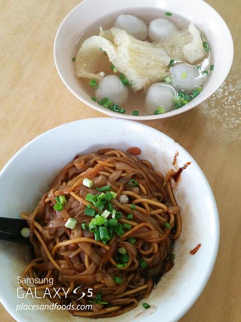 jin man fish ball noodle
