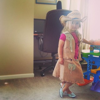 Hashtag princess kitty cowgirl life.