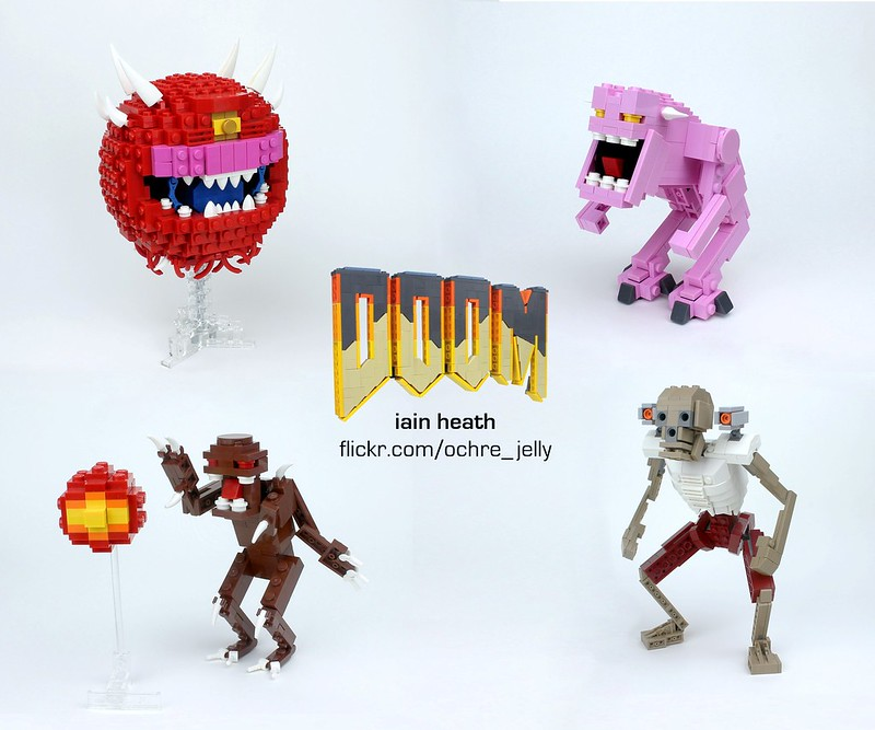LEGO DOOM: Monsters