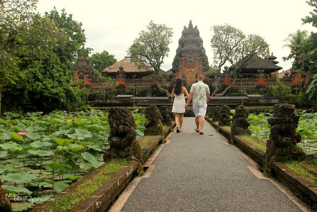 Taman Saraswati Temple Bali