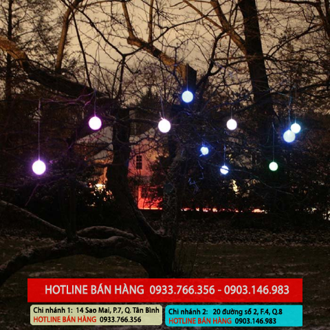Bảng giá đèn led sao băng, đèn giọt nước rẻ nhất 2013