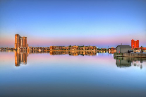 baltimore md maryland innerharbor apartments sunrise twilight dawn craigfildesfineartamericacom
