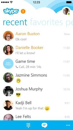 Skype 5.0 для iPhone