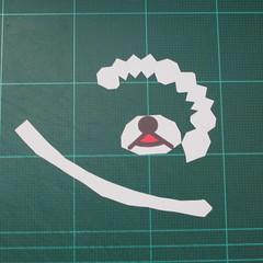 วิธีทำโมเดลกระดาษหมีรีแลกคุมะถือป้าย (Rilakkuma Papercraft Model 1) 001