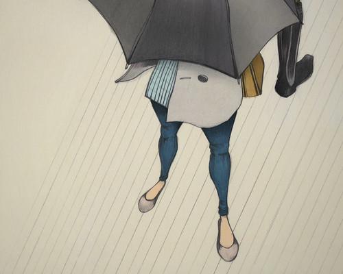 Au Revoir, Parapluie (Detail)