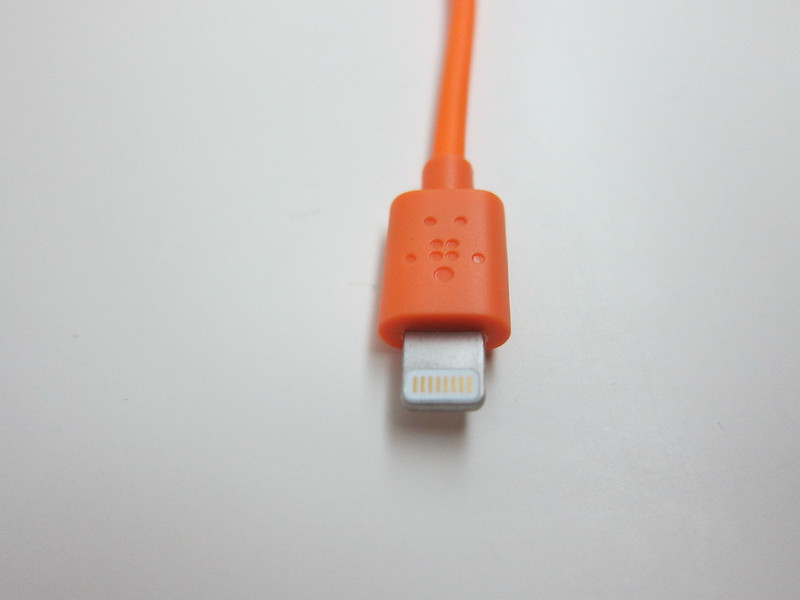 Belkin 6 Inch Lightning to USB ChargeSync Cable - Lightning Head