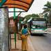 Côte d'Ivoire's economic capital, Abidjan, has developed a public transport strategy, which includes reserving a bus line and several levels of quality service for the middle class and civil servants. Credit: Marc-André Boisvert/IPS