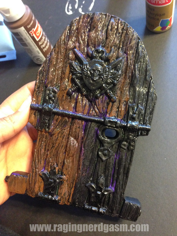 RNG Custom Paint Master of the Universe Castle Gray Skull by Ana Khayos (7)