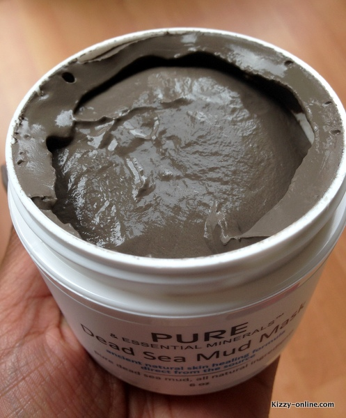 Dead Sea Mud Facial Mask Review skincare skin Pure Essential Minerals