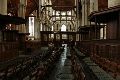 Oude Kerk: interno della chiesa