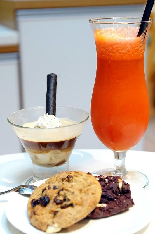 Waffles, ice cream, affrogato New Zealand Natural, The Curve-002