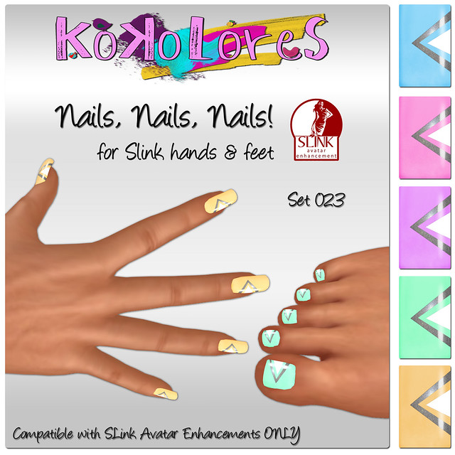 [KoKoLoReS] Nails, Nails, Nails! Set 023