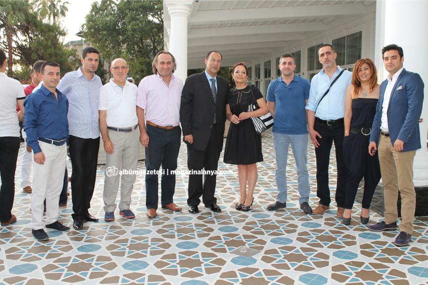 Alanya Turistik İşletmeciler Derneği'nin sezon kokteyli Rubi Platinum Otel'de yapıldı