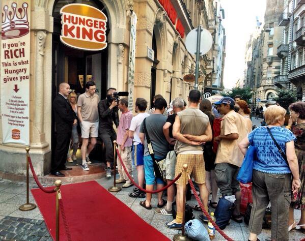 Hunger King in Budapest Jani Leinonen
