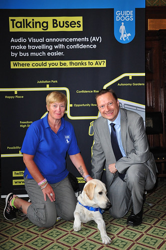 Guide Dogs Talking Buses Campaign