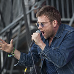 Damon Albarn wowed us with solo songs, Blur tunes, and a surprise dose of Gorillaz. Photo by Laura Fedele