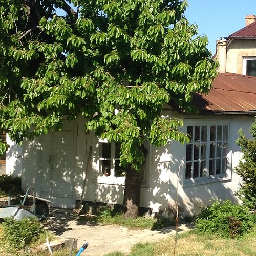 А вот и сам летний домик... #старыйкрым