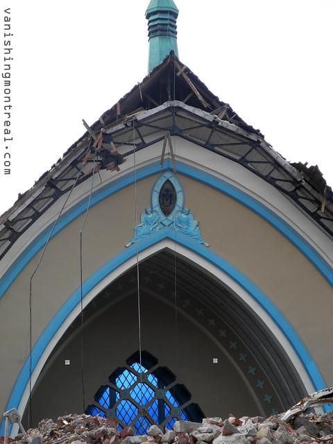 Eglise Notre-Dame-de-la-Paix demolition 15/06/14 2