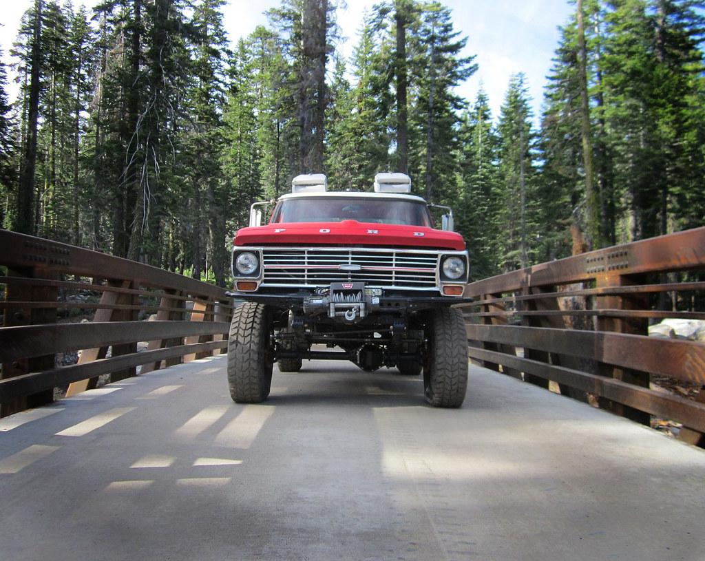 1969 F250 4x4 Highboy Project Ford