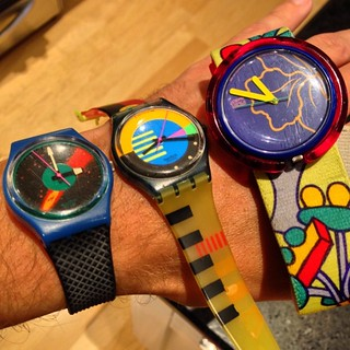 We found our old #Swatch #watch   from the #80s woooo! @jdotjdot11 @rebeccarawlinson