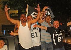 San Antonio Spurs 2014 Championship  Celebration