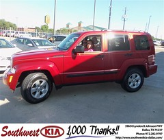#HappyAnniversary to Margurite Cantu on your 2010 #Jeep #Liberty from Michael Yaden at Southwest Kia Dallas!