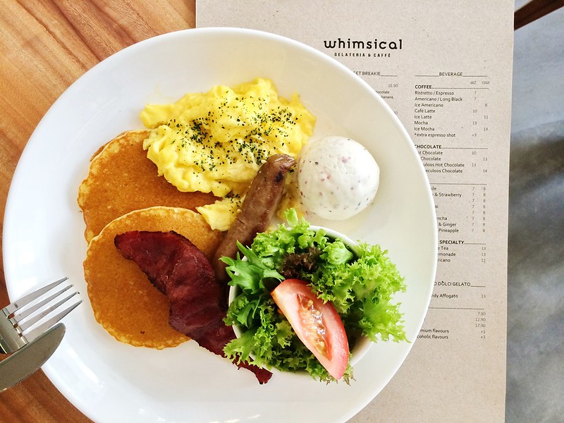 Whimsical Gelateria & Cafe - publika - bacon ice cream