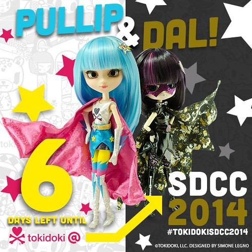 Tokidoki SDCC Dolls revealed
