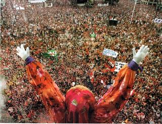 La Semana Grande de Bilbao.