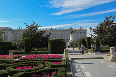 Colourful Gardens of the Palace