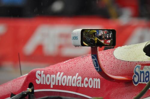 Marco Andretti - pit lane Toronto 2014