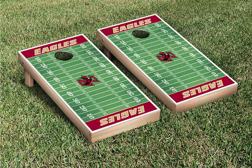 Boston College Eagles Cornhole Game Set Football Field